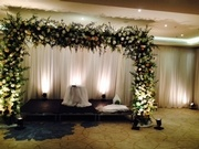 Chuppah # 2 for our other wonderful bride.