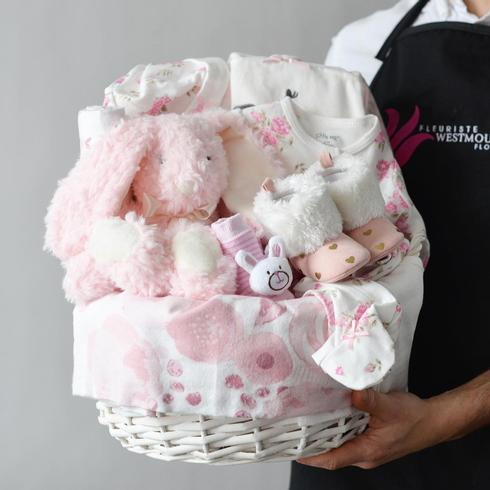 Baby Girl Basket2