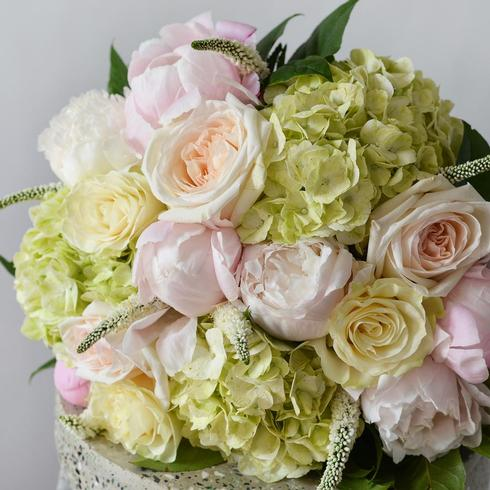 The Soft Summer Hand Tied Bouquet2