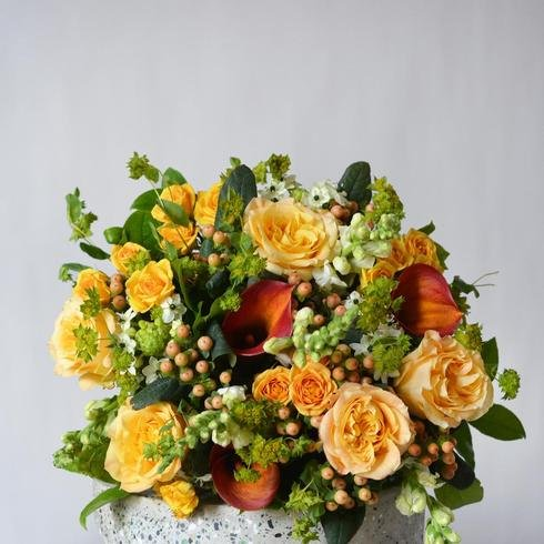 The Amber Fall Hand-Tied Bouquet2