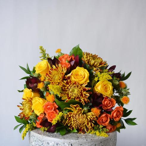 The Harvest Fall Hand-Tied Bouquet2