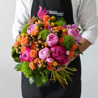 The Summer Hand Tied Bouquet