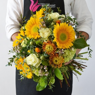 The Mid-Summer Hand-Tied Bouquet