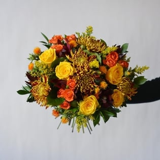 The Harvest Fall Hand-Tied Bouquet
