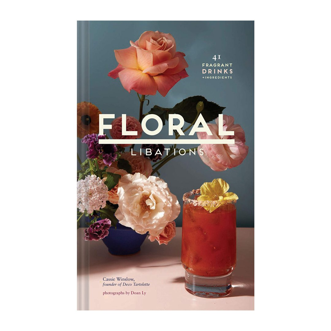 Floral coffee table book